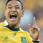Israel Folau has been struggling with an ankle complaint